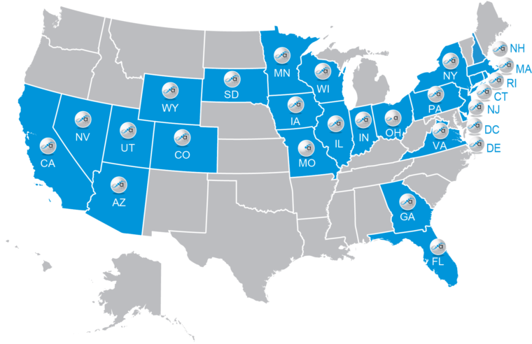 SP Website Map